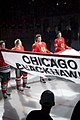 Chicago Blackhawks Stanley Cup Banner Ceremony (5104271022).jpg