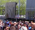 Chicago Stock Exchange arch during Chicago Art Institute Modern Wing opening weekend.JPG