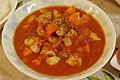 Chicken and vegitables cooked with tomato sauce (4196521511).jpg