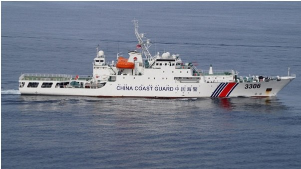 Chinese Coast Guard ship during DiREx-15