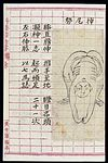 Chinese martial arts form; Wagging the tail Wellcome L0039807.jpg
