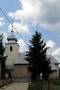 Chorváty, Dedina cirkev.jpg
