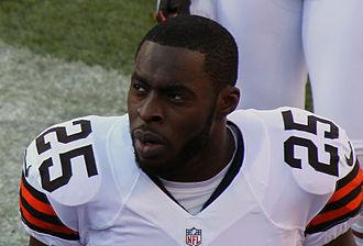 Chris Ogbonnaya - Ogbonnaya with the Browns in 2012