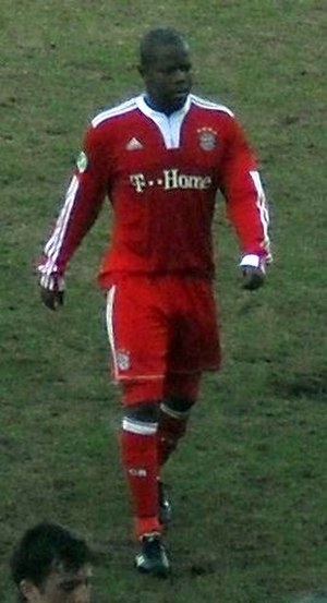 Christian Saba - Saba in action for Bayern Munich II