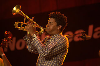 Christian Scott American jazz composer and trumpeter