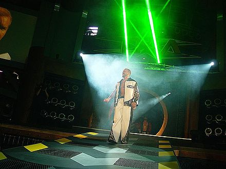 Christian making his way to the ring in August 2007 Christian cage 3.JPG