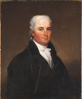 Christopher Gore - Portrait by John Trumbull, c. 1816