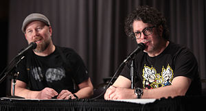 Dragon Ball Z - Christopher Sabat (left) and Sean Schemmel (right) have provided Funimation's English dub voices for Vegeta and Goku, respectively, since 1999.