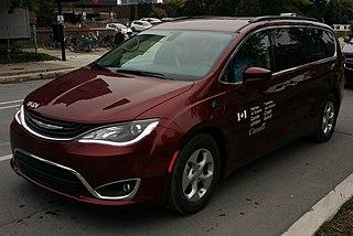 Chrysler minivans Motor vehicle platform