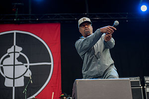 Chuck D of Public Enemy at Way Out West 2013 in Gothenburg, Sweden