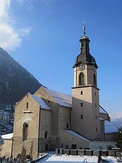 Church in Chur, Switzerland