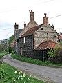 Church Lane past Thatch Cottage - geograph.org.uk - 785635.jpg