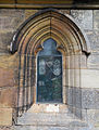 Church of St Andrew, Boothby Pagnell, Lincolnshire, England - Porch west window.jpg