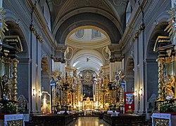 Church of St Bernardine of Siena (interior), 2 Bernardynska street, Stradom, Krakow, Poland.jpg
