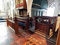 Church of St John, Finchingfield Essex England - Chancel south choir stalls.jpg