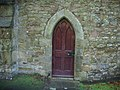 Church of St Mary the Virgin, Thornton-in-Craven, Doorway - geograph.org.uk - 623664.jpg