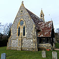 Church of the Holy Trinity, East Grimstead, Wiltshire, England, from SW.jpg