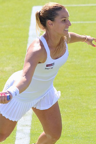 Dominika Cibulková - Cibulková at the 2017 Aegon International Eastbourne