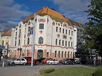 Bács-Kiskun County - Image: Cifra Palace (1903), Kecskemét 2016 Hungary