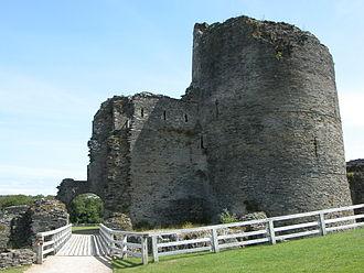 Gerald de Windsor - Cilgerran Castle, the possible site of Nest's abduction