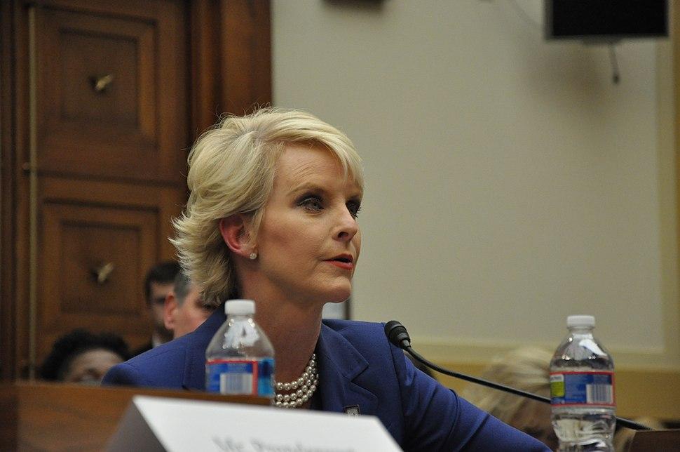 Cindy McCain testifies to Congress on the Democratic Republic of Congo.