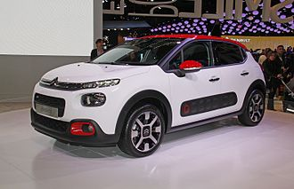 2016 Paris Motor Show - Citroën C3 at the 2016 Paris Motor Show