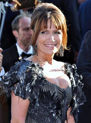 Clémentine Célarié - Clémentine Célarié at the 2009 Cannes Film Festival