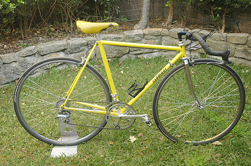 Clamont 80s Geoff Scott funny bike 531 bicycle bootiebike com drive side 1000