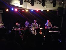 Clap Your Hands Say Yeah performing in 2014