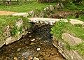 Clapper bridge on Narrator Brook.jpg