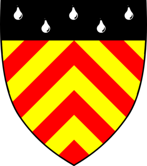 Clare Hall, Cambridge - Clare Hall heraldic shield