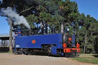South African Class NG4 4-6-2T - No. NG16, restored at Sandstone Estates, 4 May 2013