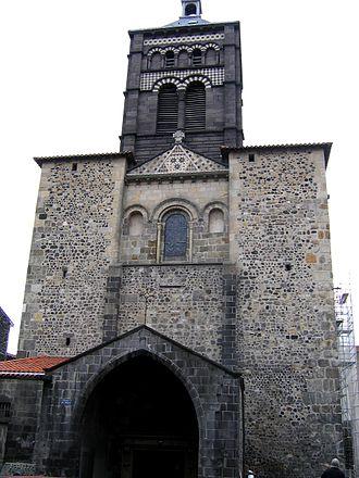 Basilica of Notre-Dame du Port - West door