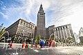 Cleveland Public Square Fountain (29744768716).jpg