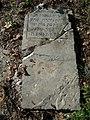 Cmentarz żydowski w Lipsku (województwo mazowieckie)-macewa.jpg