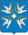 Coat of arms of Druzhni (Belorechensk, Krasnodar).png