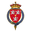 Coat of arms of Henry Bennet, 1st Earl of Arlington, KG, PC.png
