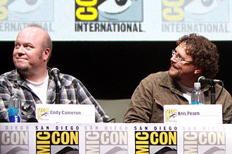 Cloudy with a Chance of Meatballs 2 - Cody Cameron and Kris Pearn, the directors of the film, at the 2013 San Diego Comic-Con International