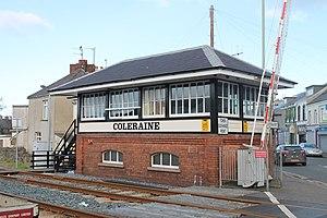 Coleraine railway station - Coleraine Signal Cabin