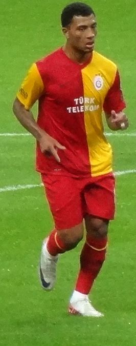 Colin Kâzım-Richards in 2011 als speler van Galatasaray.