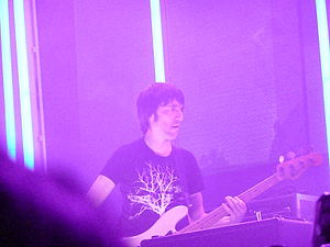 Colin Greenwood - Colin Greenwood with Radiohead in 2008