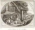 Collection de cent-vingt estampes, gravée d'après les tableaux and dessins qui composoient le cabinet de m. Poullain précédée d'un abrégé historique de la vie des auteurs qui la composent Cette suite (14798598733).jpg
