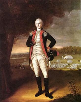 Walter Stewart (general) - Col. Walter Stewart in a 1781 portrait by Charles Willson Peale