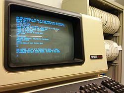 Colossal Cave Adventure on VT100 terminal.jpg