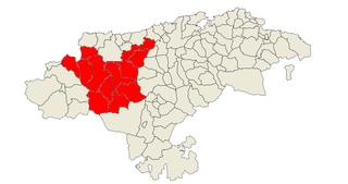 Saja and Nansa valleys Comarca in Cantabria, Spain