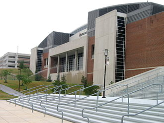 Xfinity Center (College Park, Maryland) - Exterior, Summer 2007