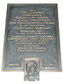Commemorative plaque of Holy Cross church in Warsaw - 06.jpg