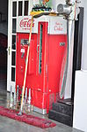 Concrete, WA - Mears Field - Bolan & Son hangar - old Coke machine 01.jpg