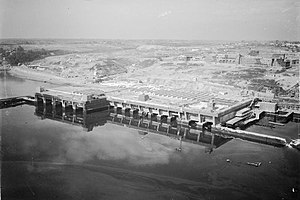 Submarine pen - U-boat pens at Brest