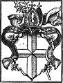 Constitutiones et decreta synodalia Konstanz 1567 Wappen Bistum.jpg